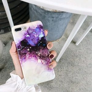 Accessories - iPhone XS MAX purple marble case